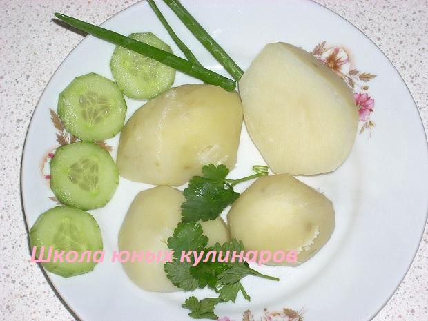 Как сварить картошку без мундиров?
