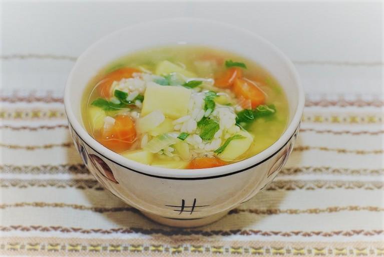 Рыбный суп в мультиварке из трески
