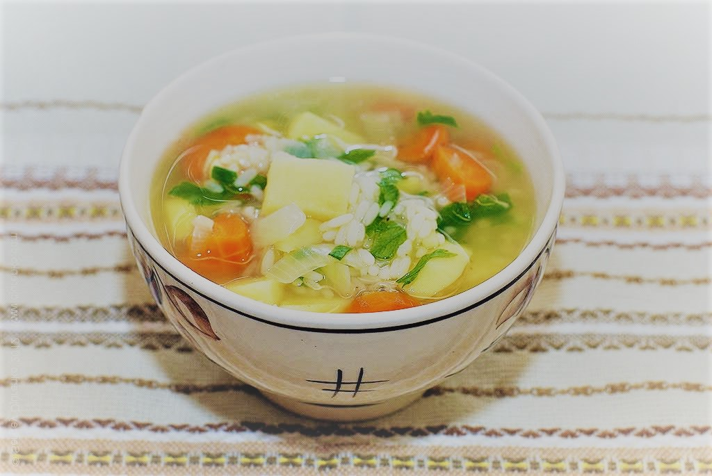 Как приготовить низкокалорийный суп