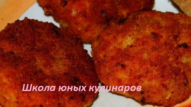 котлеты куриные с майонезом рецепт