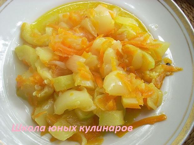 Рагу из овощей рецепт с пошагово в мультиварке