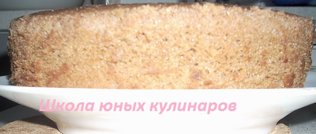 Простой шоколадный бисквит на кипятке в мультиварке