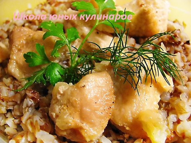 Рецепты свинина жареная с луком