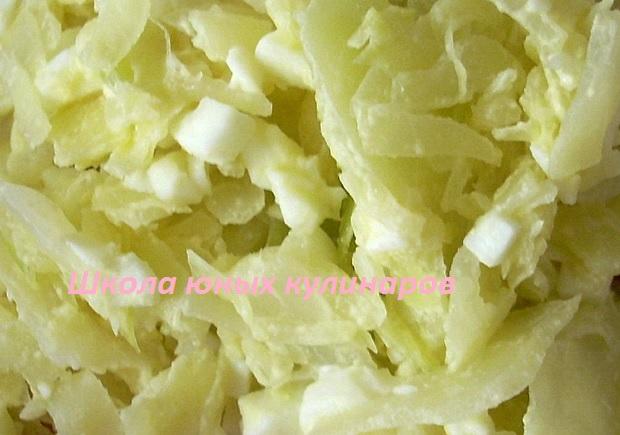 Простая начинка из капусты для пирожков. Рецепт с фото
