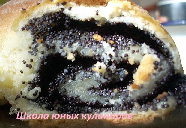 Рулет с маком в хлебопечке