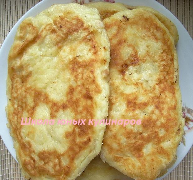 Картофельные зразы с фаршем (куриным)