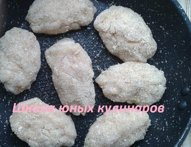 рецепт котлет с куриным фаршем и картошкой