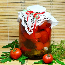 Рецепт засолки помидоров на зиму