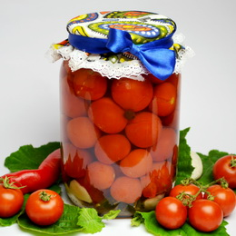 Рецепт засолки помидоров