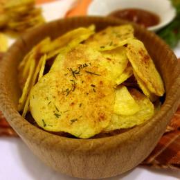Сырная закуска с чипсами