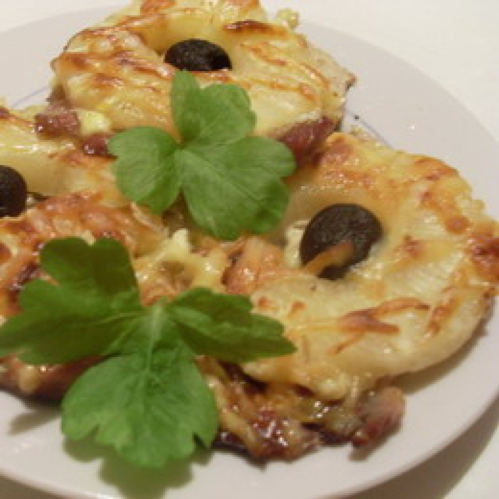 Мясо по-французски рецепт пошагово с ананасом