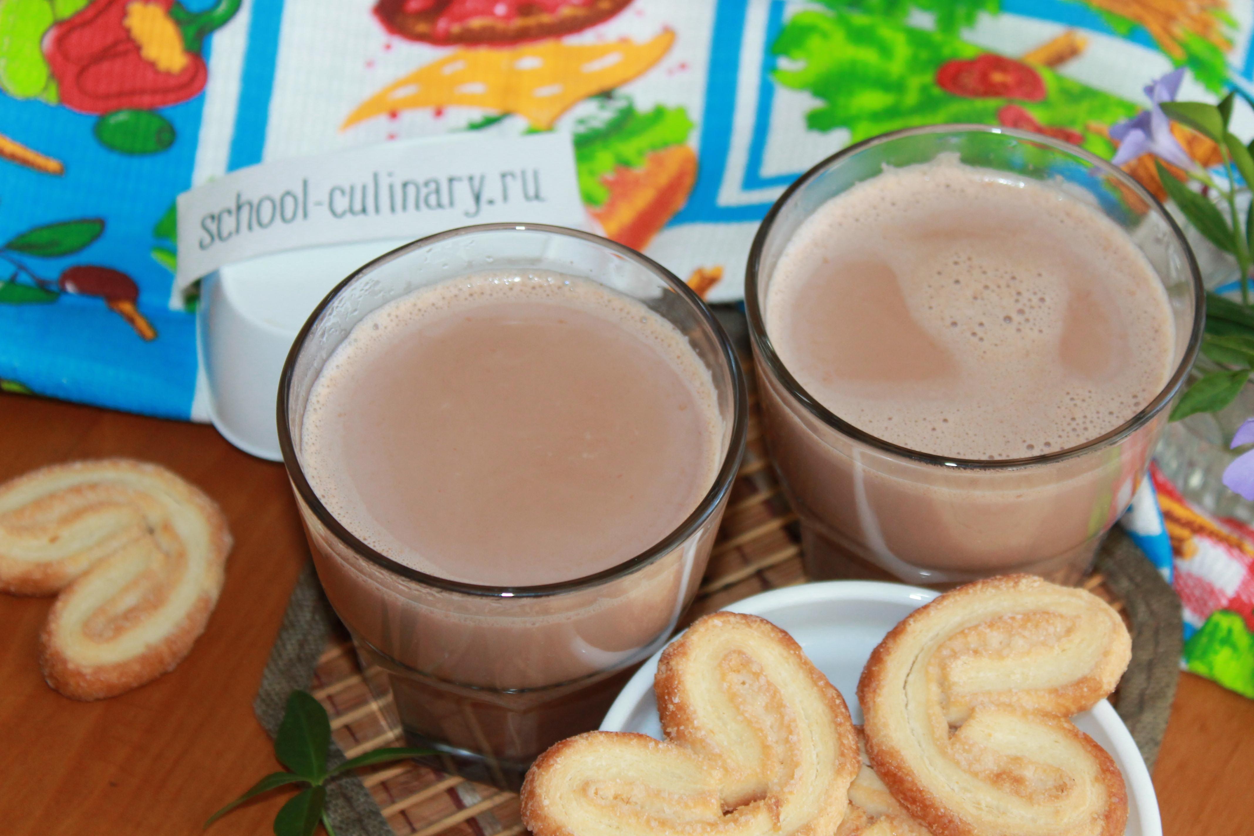 Как варить какао с молоком - пошаговый рецепт с фото. Как