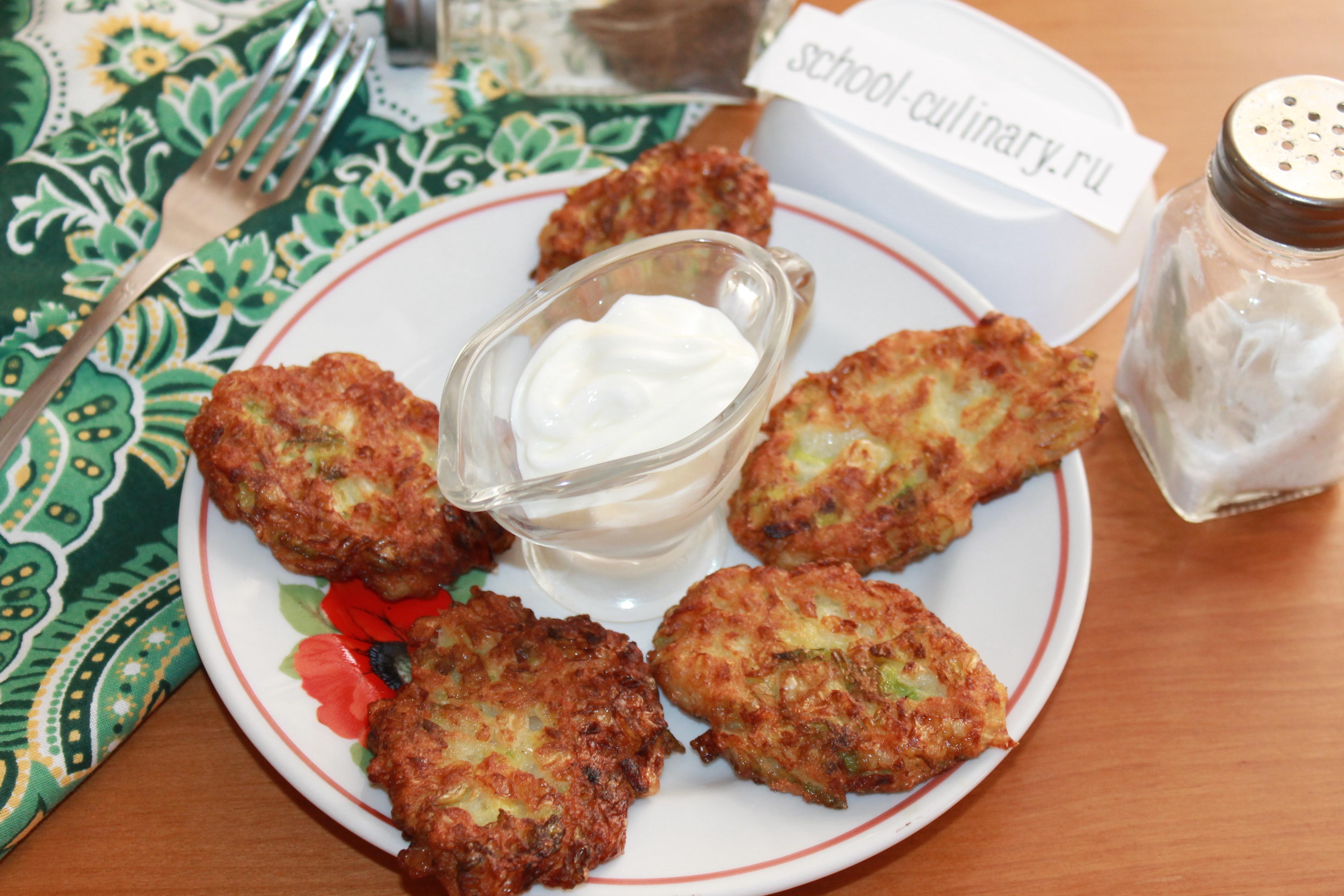 Оладьи из капусты рецепты пошагово