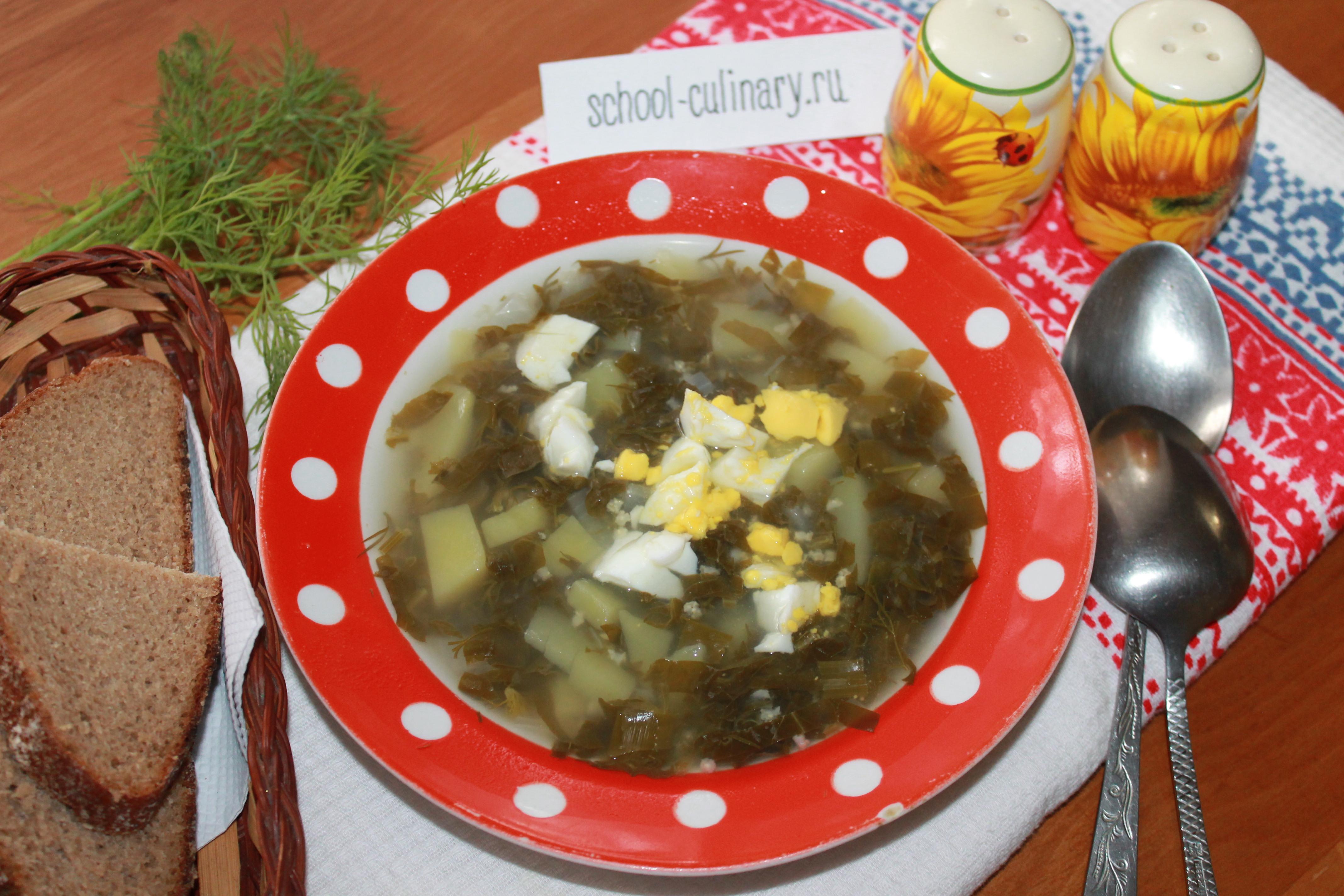 Суп с клёцками и щавелем пошаговый рецепт