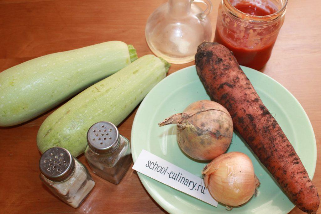 Тушеные кабачки - рецепт пошаговый с фото