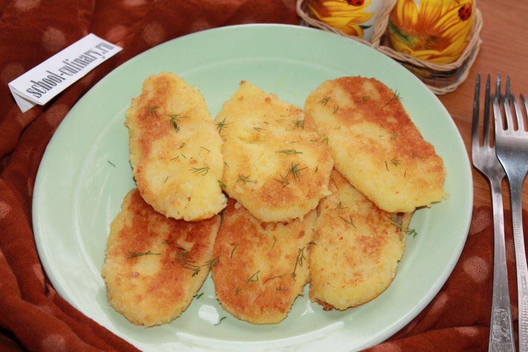 Блюда из толченой картошки с фото пошагово