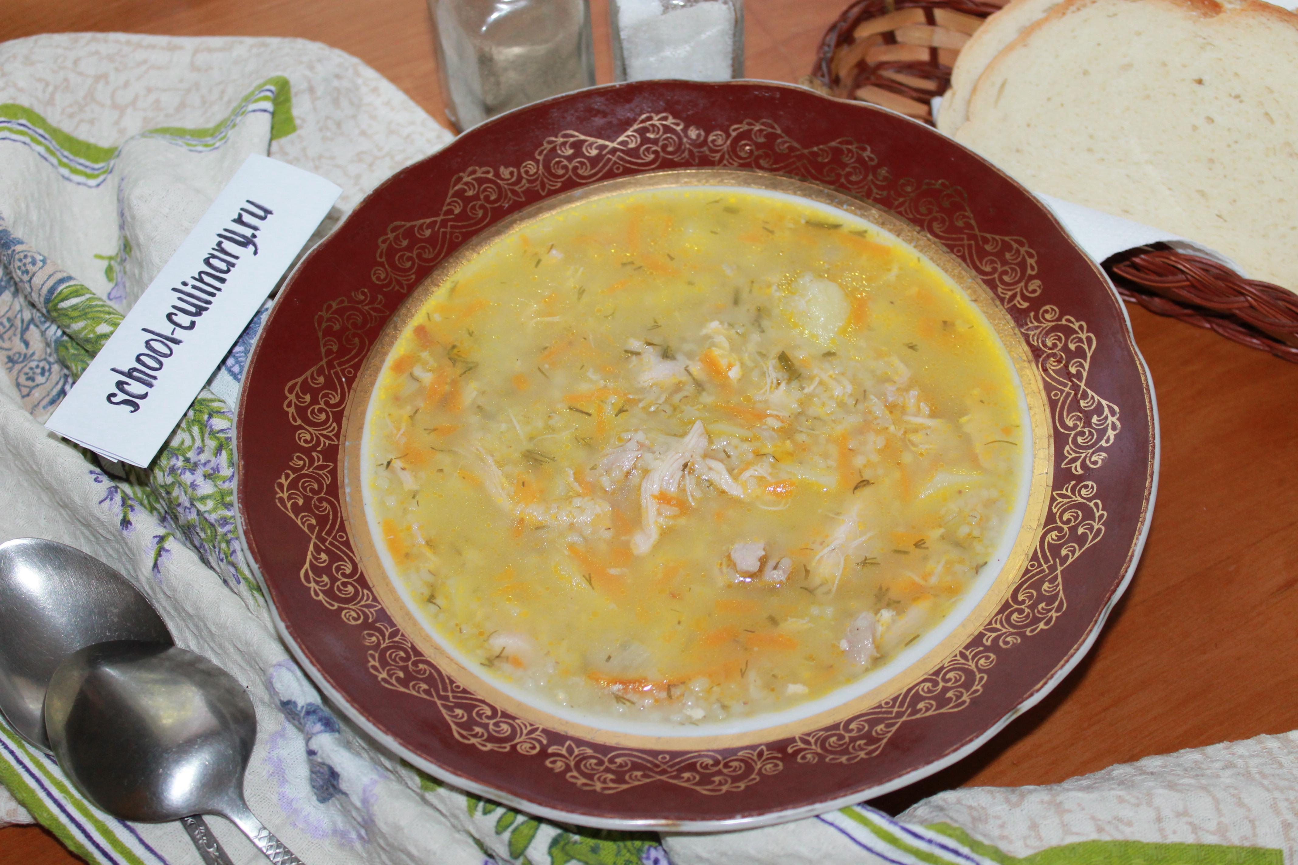 Варим суп с ячневой крупой