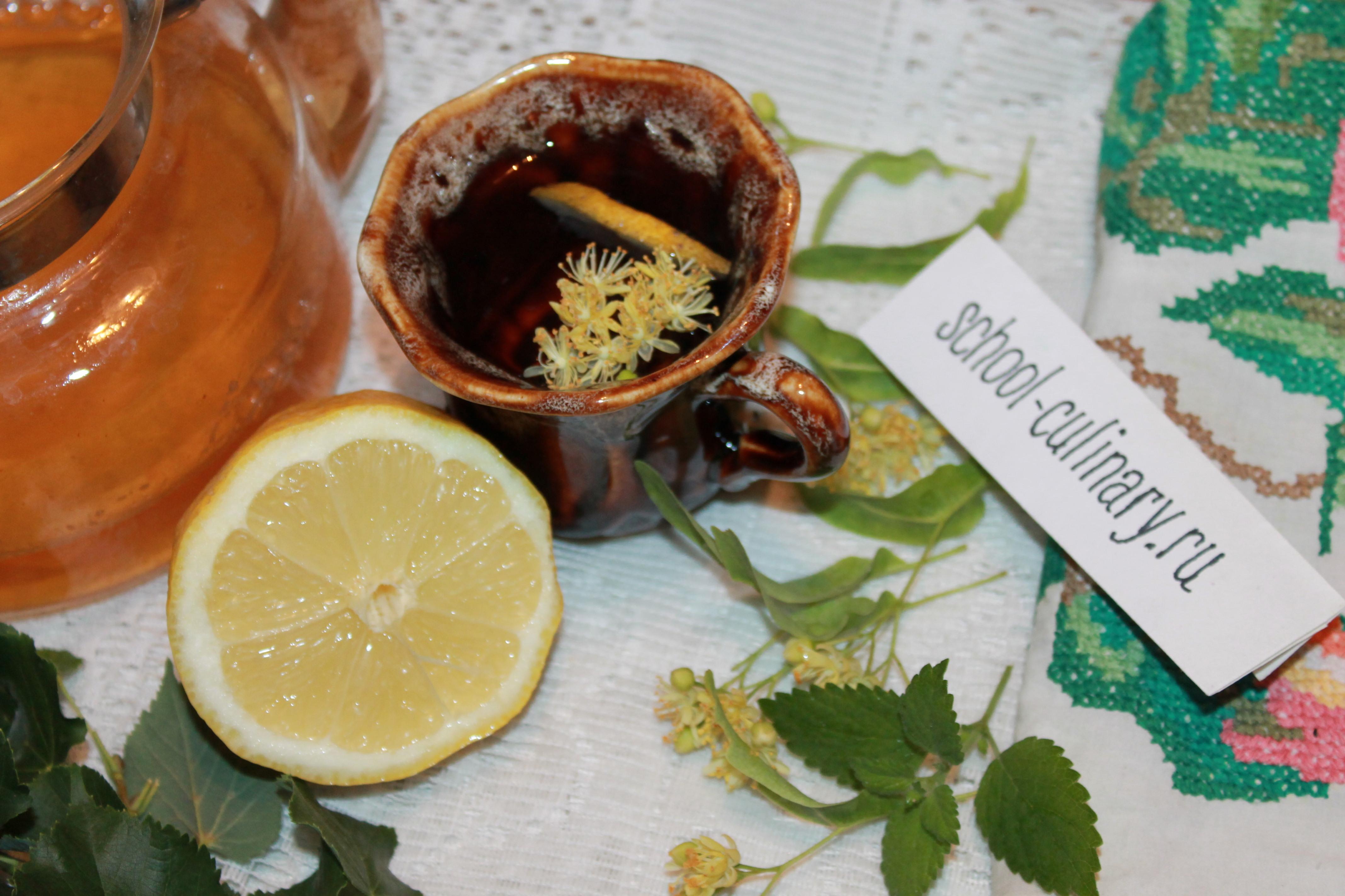 Завариваем вкусный чай с липовыми цветами