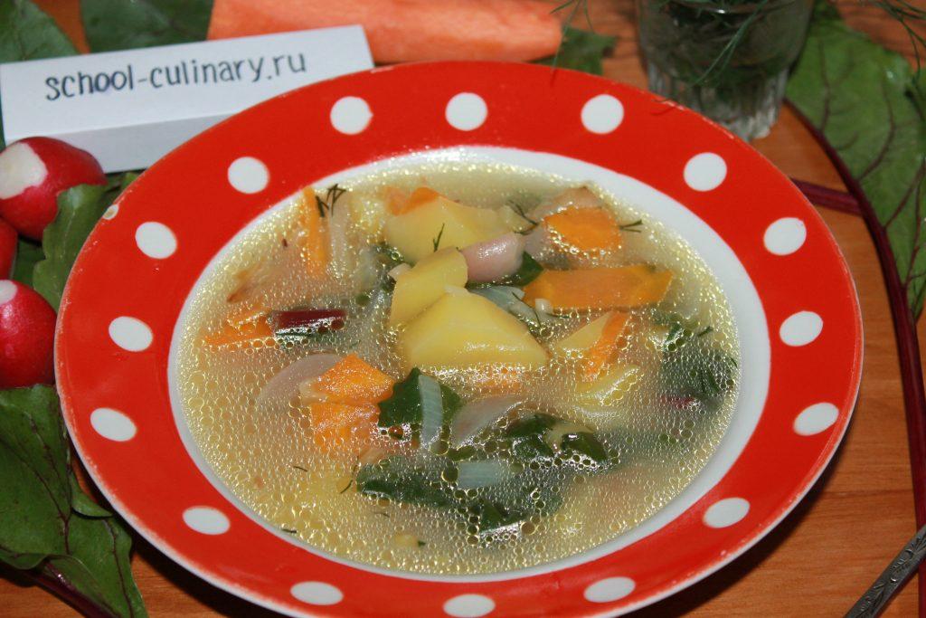 суп ботвинник из листьев свеклы фото рецепт практически