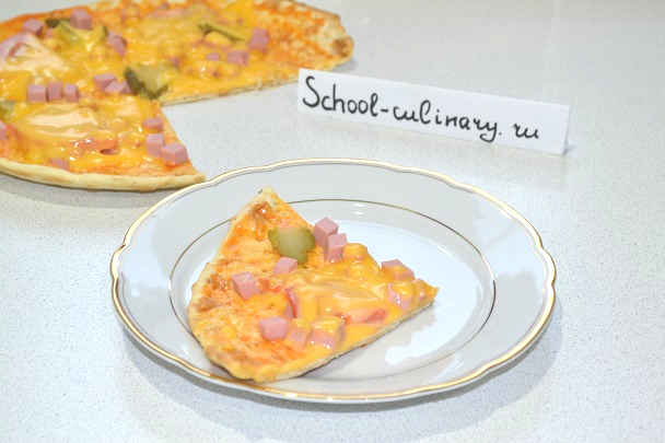 Рецепт пиццы пятиминутки на сковороде — Находка для хозяйки