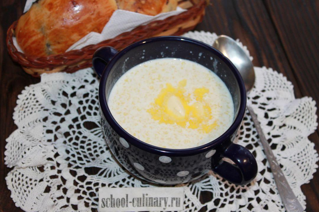 Как приготовить бабушкину пшенную кашу на молоке