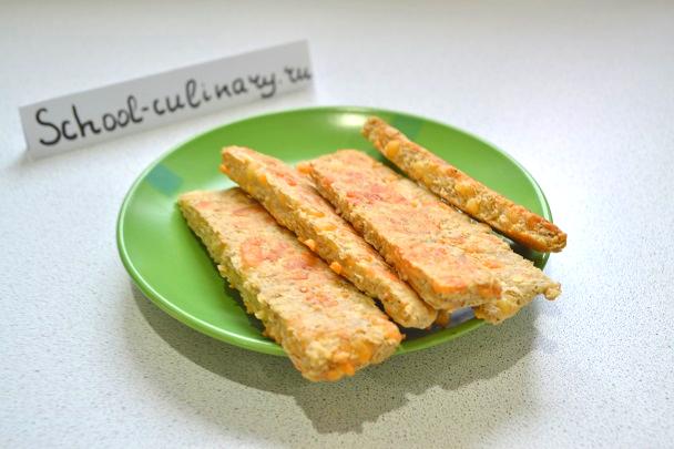 Овсяные палочки с сыром