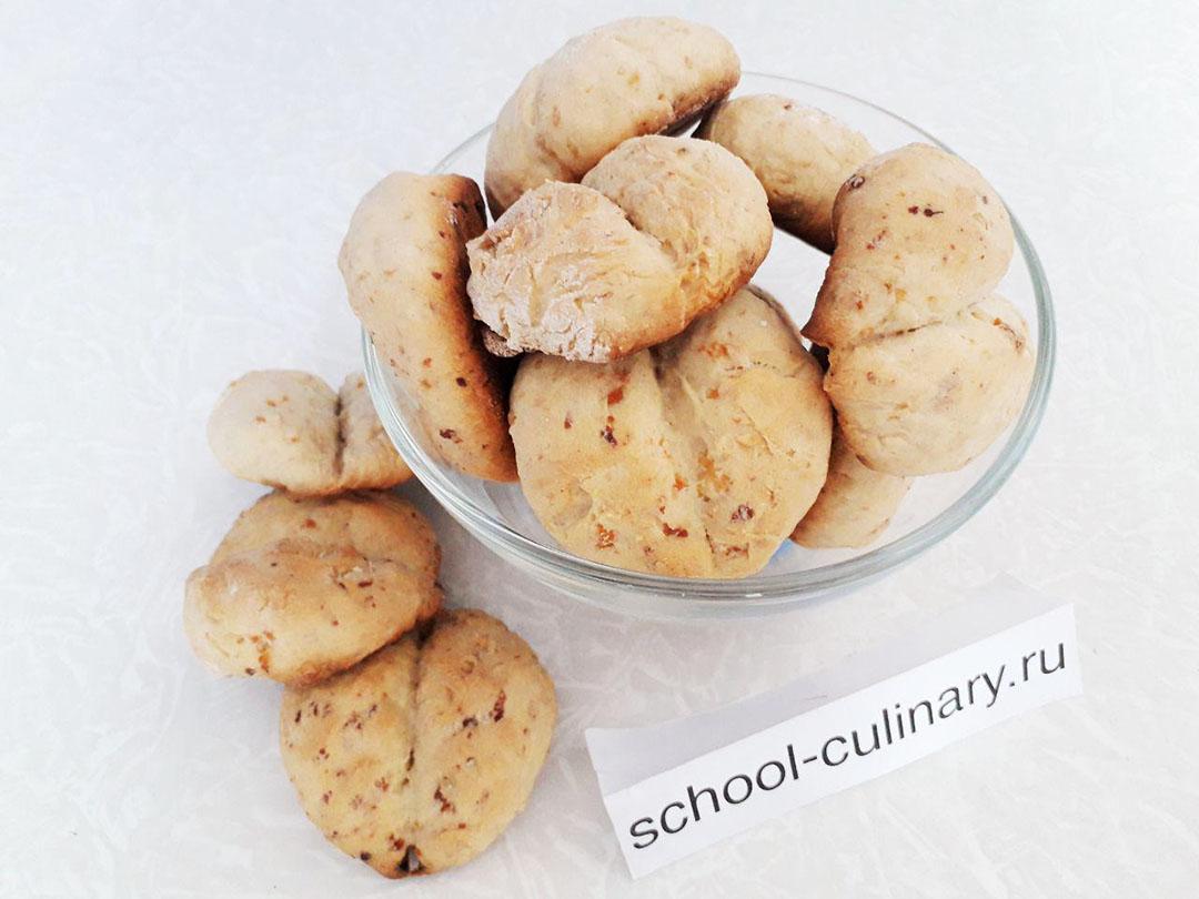 Мягкое печенье Кофейные зерна