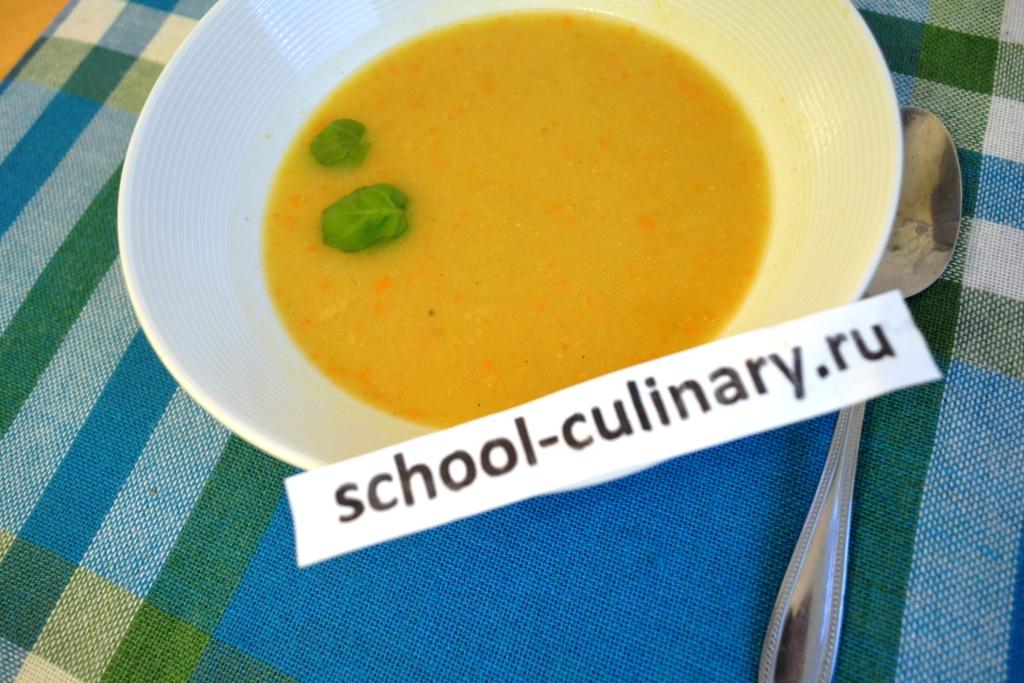 Пряный бобовый суп-пюре