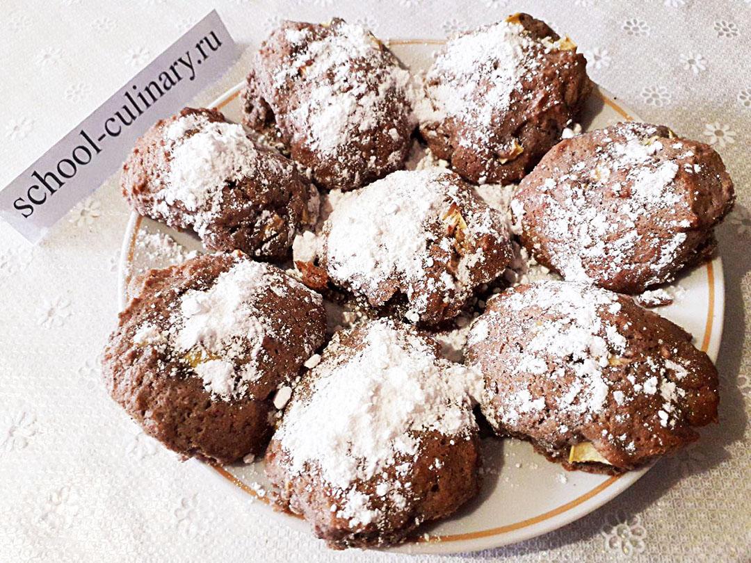Черемуховое печенье