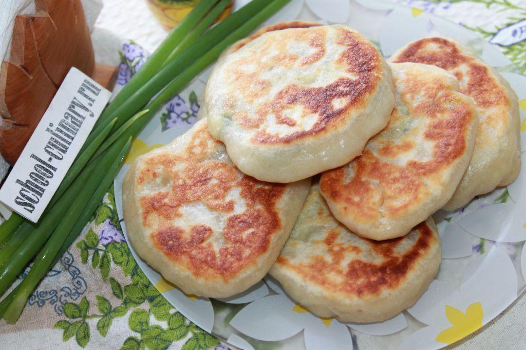 Пирожки с омлетом