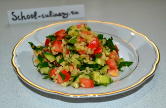 Как приготовить вкусный салатик табуле с булгуром