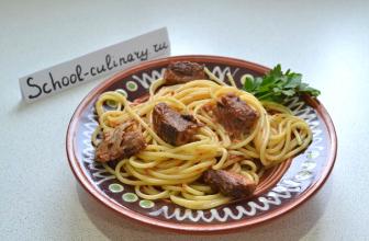 Спагетти с тунцом — ужин за 15 минут