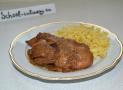 Куриная печень в мандариново-соевом соусе