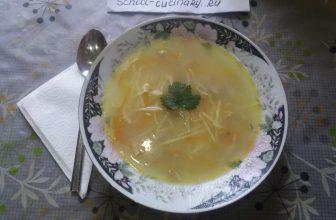 Куриный суп с лимонным соусом по-турецки