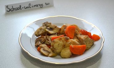 Запекаем вкусняшное куриное филе с овощами в рукаве