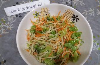 Лёгкий салат из свежих овощей