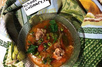 Суп классическая лазанья