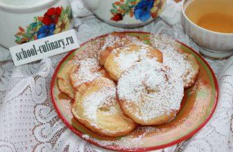 Простой рецепт жареных яблок в тесте от бабушки
