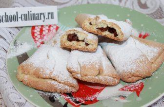 Домашнее печенье с изюмом