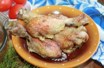 Как приготовить куриные ножки в майонезе в духовке