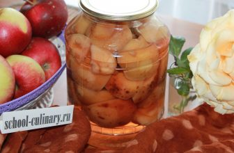 Как консервировать яблоки