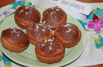 Как приготовить простые и вкусные кексы на молоке