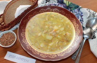 Куриный суп с гречкой: пошаговый рецепт с фото