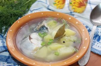 Как приготовить суп из скумбрии с картофелем и луком