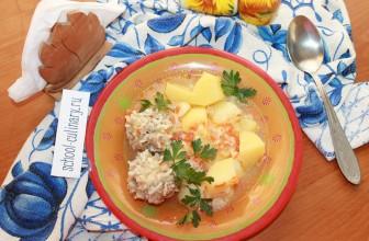 Вкусный и простой обед на скорую руку