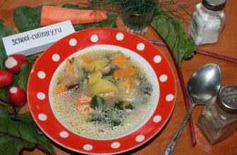 Готовим суп из ботвы свеклы