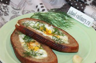 Бутерброды с жареным яйцом