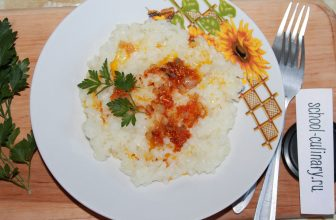 Вязкая рисовая каша