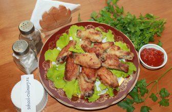 Как приготовить куриные крылья в кляре на сковороде