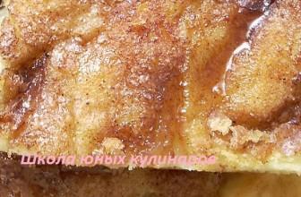 Альмойшавена — сладкая лепешка с корицей